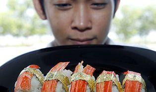 Foto: Un chef filipino crea el sushi más caro del mundo: 1.700 € el plato