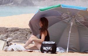 A Penélope Cruz le 'crecen los enanos' en Tenerife