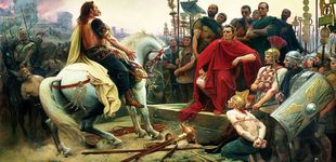 Post de César contra Vercingétorix: fin de mil años de civilización celta entre un millón de muertos