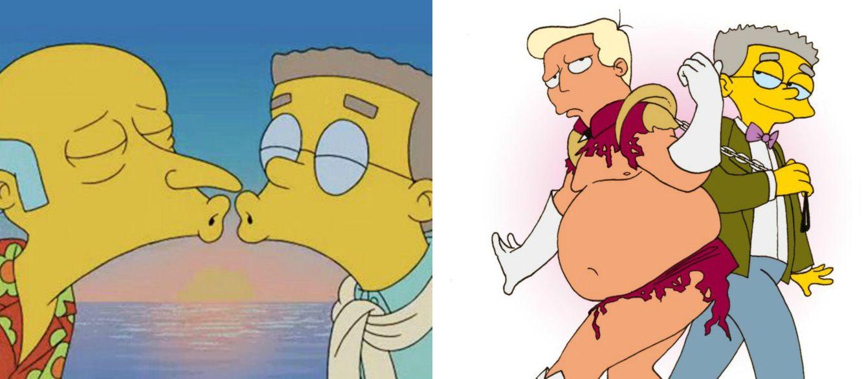 Foto: 'Los Simpson' - Smithers (por fin) sale del armario en la nueva temporada
