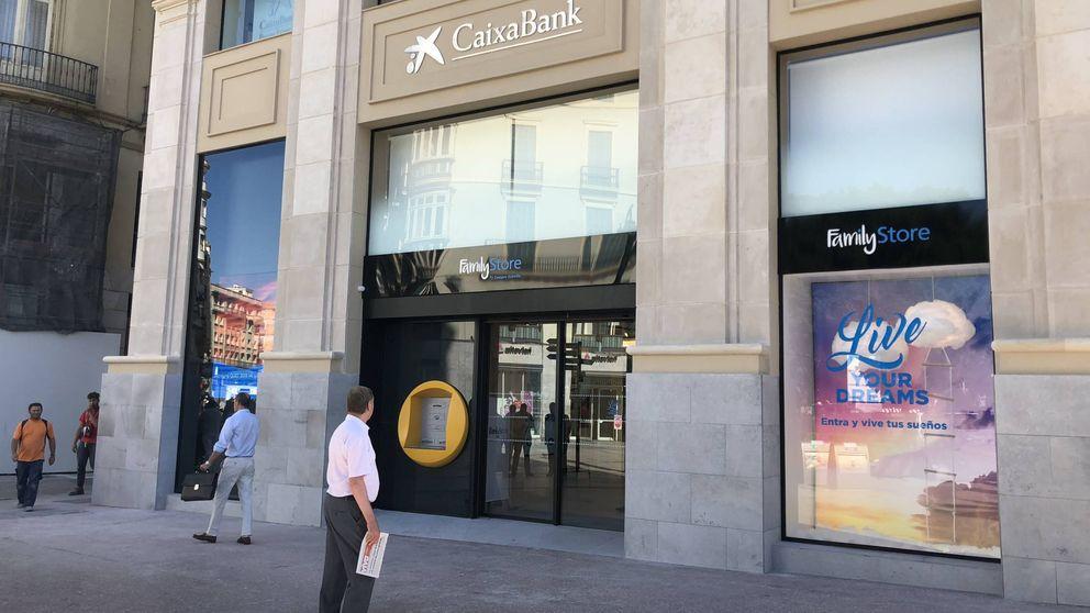 ¿Esto no es un banco?. Así es el estreno sorpresa del Family Store de CaixaBank