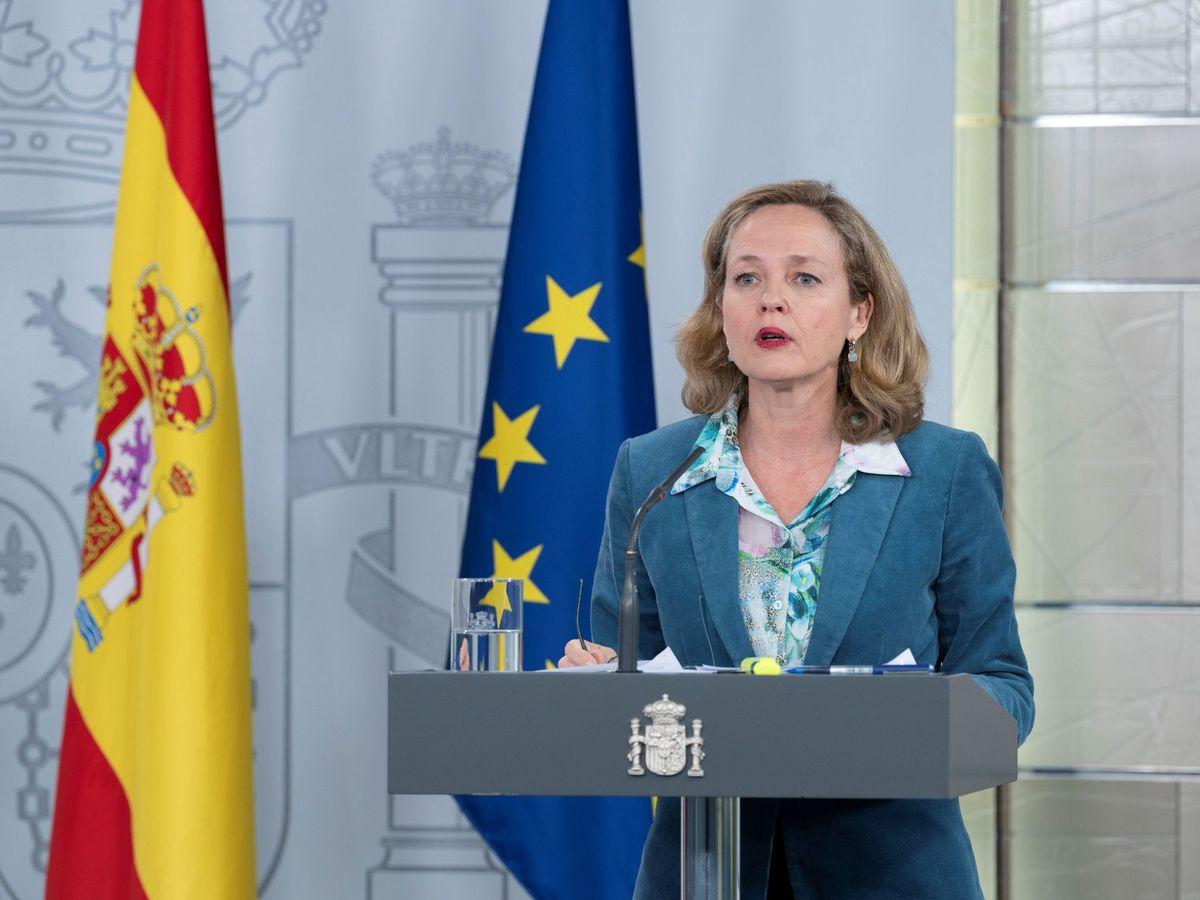 Foto: La vicepresidenta tercera y ministra de Asuntos Económicos y Transformación Digital, Nadia Calviño