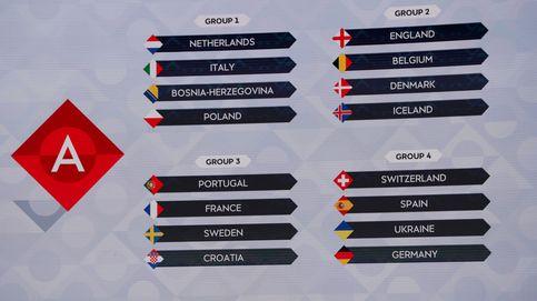 Alemania, Ucrania y Suiza, rivales de España en la Liga de Naciones de la UEFA