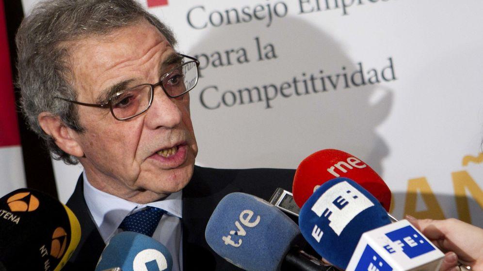 Foto: El presidente del Consejo Empresarial para la Competitividad (CEC), César Alierta. (EFE)