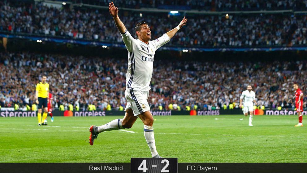La voracidad de Cristiano no tiene fin y el Real Madrid vuela hacia las semifinales