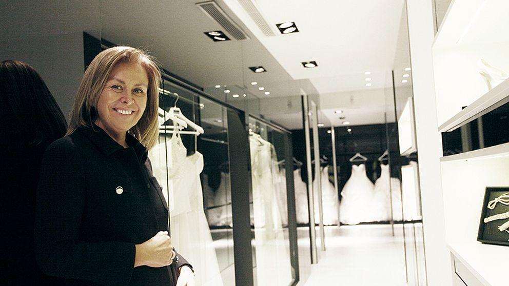 Rosa Clará, la 'vestidora' de novias que no asiste a las bodas