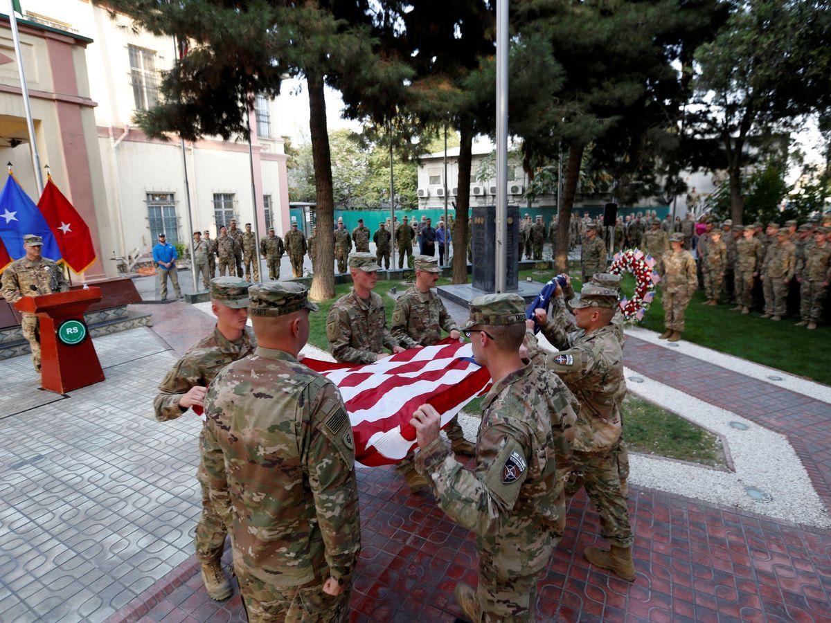 Foto: Foto de archivo de una ceremonia de recuerdo del 11-S en Kabul, en 2017. (Reuters)