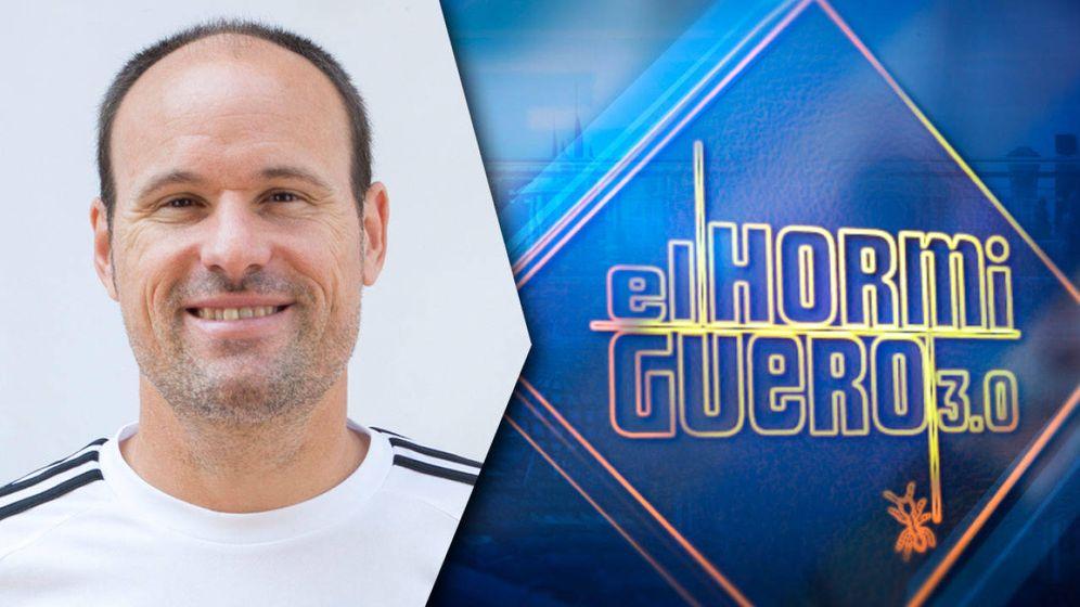 Foto: Mateu Lahoz, en 'El hormiguero' de Pablo Motos. (Antena 3).