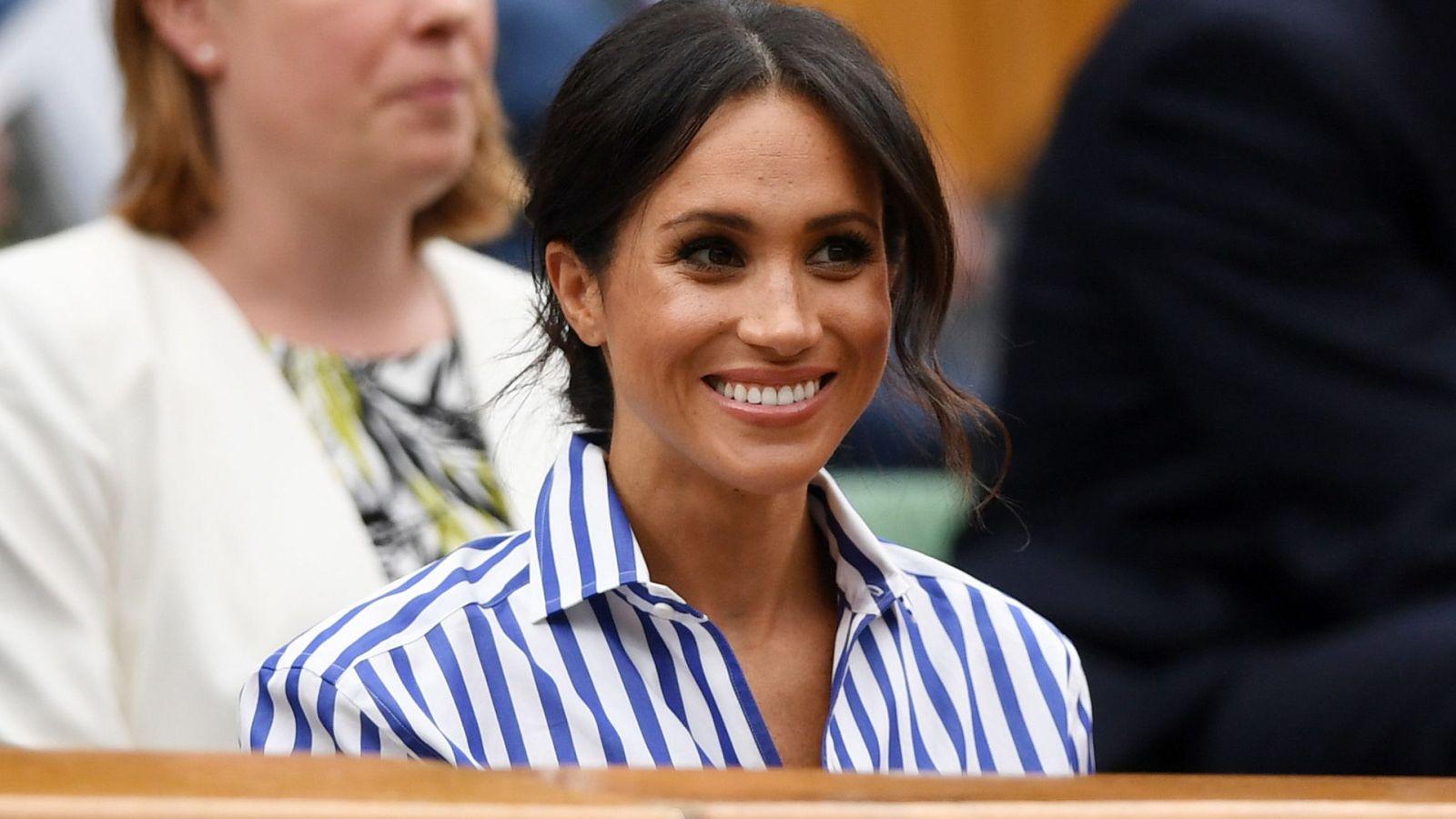 Foto: La duquesa en Wimbledon. (EFE)