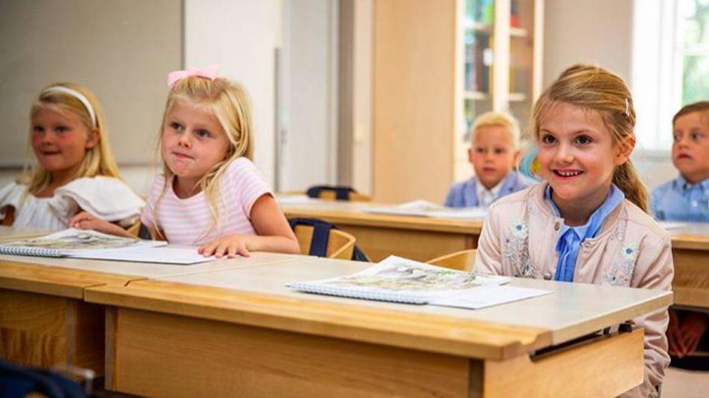Estelle de Suecia, alumna aplicada: su tercera clase sobre la historia de la familia real