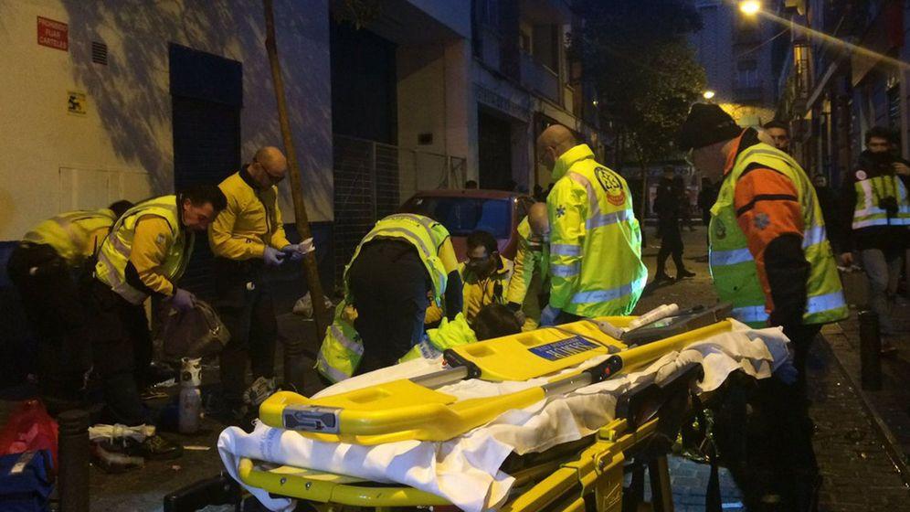 Foto: Fotografía facilitada por Emergencias Madrid de un crimen sucedido en el distrito de Tetuán. (EFE)