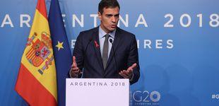 Post de Sánchez reivindica el liderazgo de España en materia de inmigración en el G-20