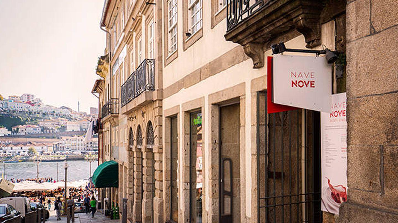 Entrada al restaurante Nave Nove, junto al Duero. (Cortesía)