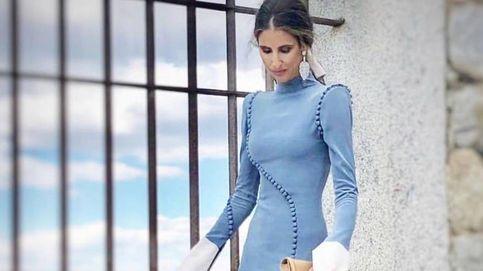 El vestidazo (y la marca) que llevó Inés Domecq a la boda 'posh' del fin de semana