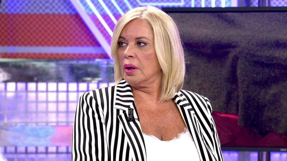 Foto: Bárbara Rey, en 'Sábado Deluxe'. (Telecinco)