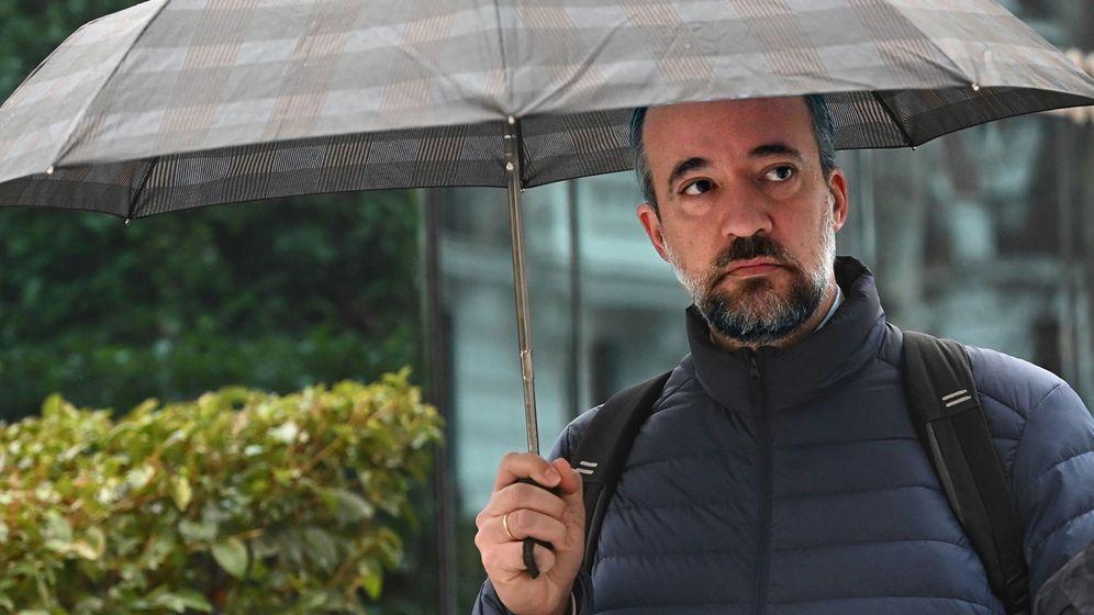 Foto: Francisco Martínez, a su llegada a la Audiencia Nacional. (EFE)
