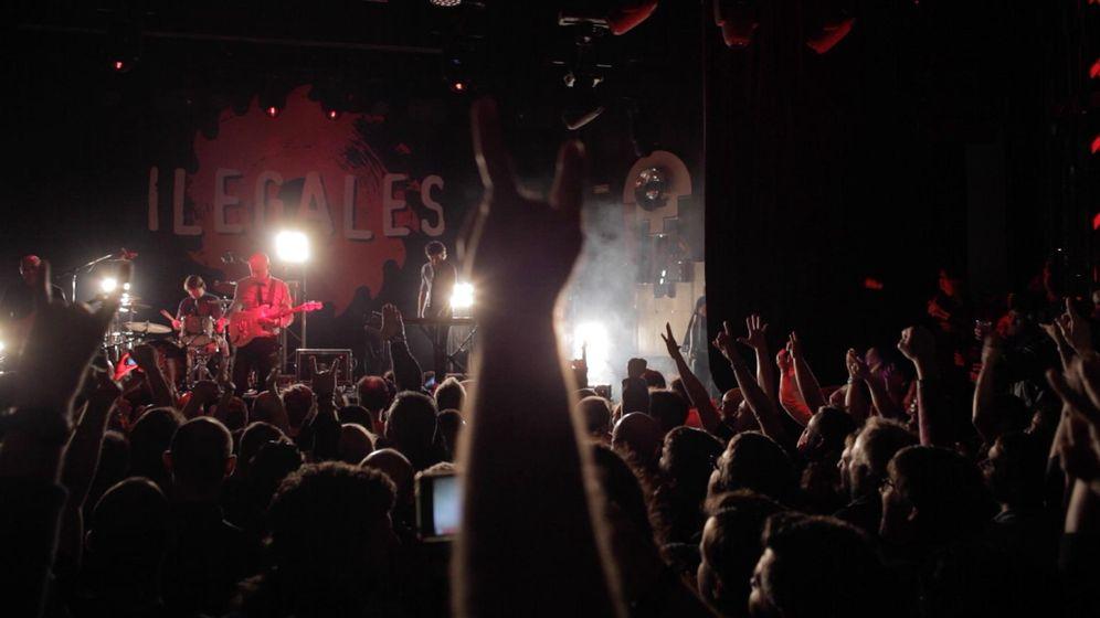 Foto: Concierto de Los Ilegales