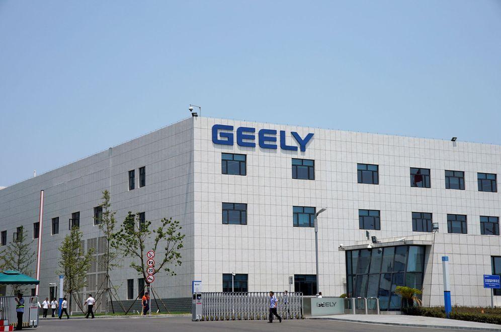 Foto: Edificio de Geely. (EFE)