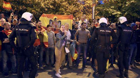Las protestas llegan a Zaragoza: la Policía media entre los CDR y la extrema derecha