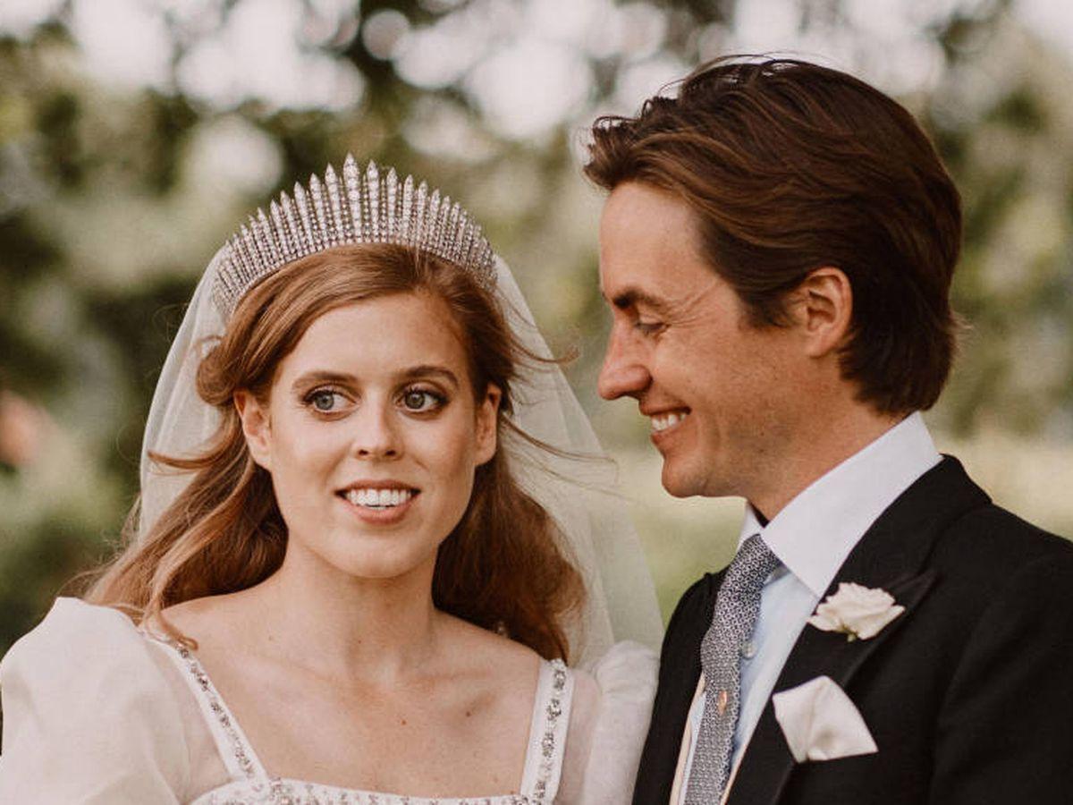 Foto: Beatriz de York y Edo Mapelli, recién casados. (Reuters)