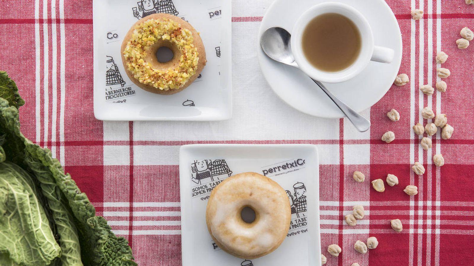 Foto: Donut de cocido en dos vuelcos. (PerretxiCo)