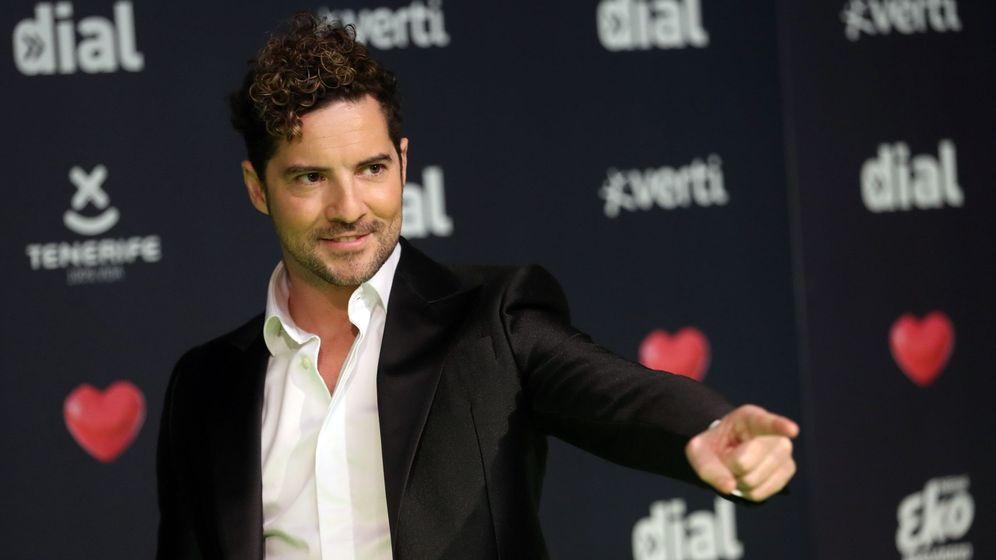 Foto: David Bisbal en los premios de la Cadena Dial. (EFE)