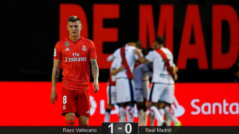 La agonía del Real Madrid contra el Rayo: el inicio de la limpia y los fichajes