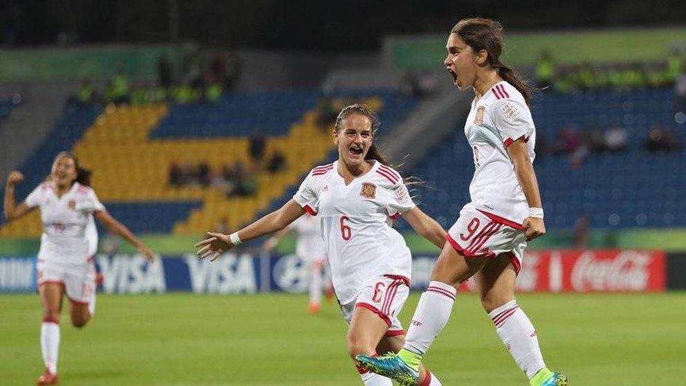 España se lleva el bronce en el Mundial de fútbol Sub 17 femenino