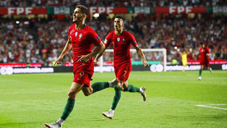 En sus cinco últimos partidos con Portugal, André Silva ha marcado tres goles. (EFE)