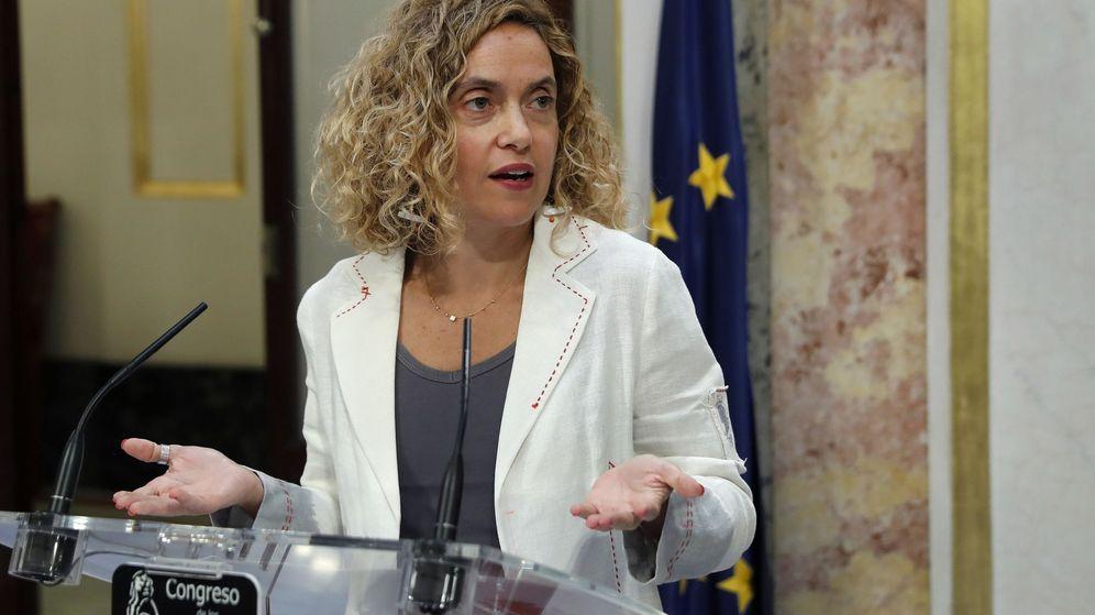 Foto: La presidenta del Congreso de los Diputados, Meritxell Batet. (EFE)