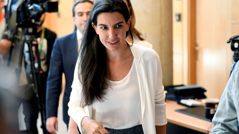 Foto: La candidata de Vox a la Comunidad de Madrid, Rocio Monasterio. (EFE)