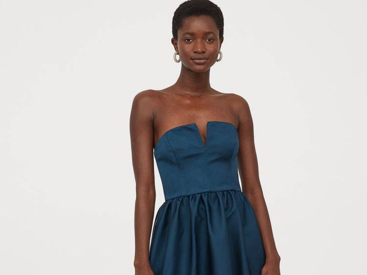Foto: El nuevo vestido para invitadas de HyM. (Cortesía)