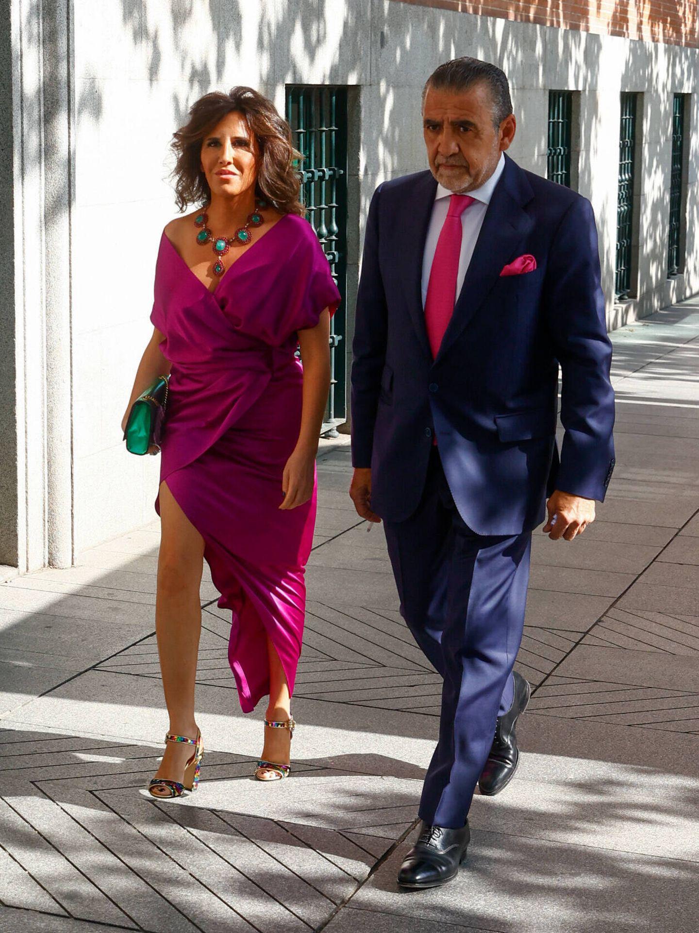 Jaime Martínez-Bordiú y su pareja, Marta Fernández. (Gtres)