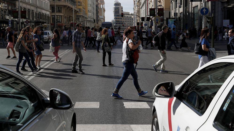 Foto: Imagen de la calle Gran Vía de Madrid. (EFE)