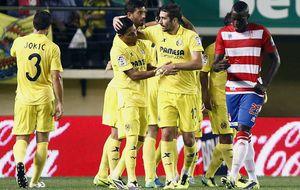 Un Villarreal al alza se quita de encima al Granada y sigue en 'zona Champions'