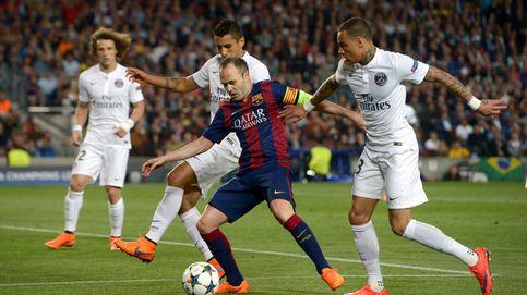 Iniesta mete magia al Barcelona de los tres tenores que nunca desafinan