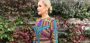 Post de Cristina Cifuentes repite vestido 'low cost' para ir de boda