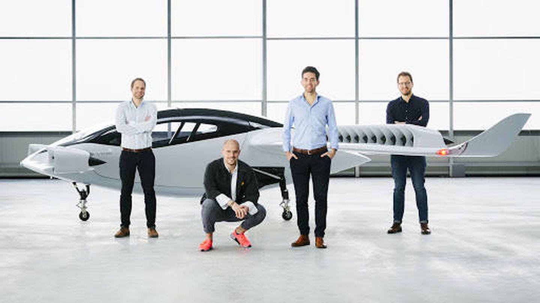 'Bros' de Silicon Valley vendiendo burras voladoras.