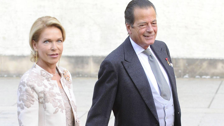 Sofía de Habsburgo y el príncipe Hugo. (Gtres)