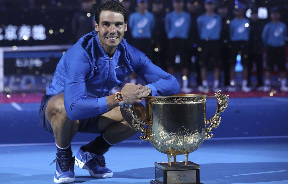 Foto: Rafa Nadal ganó en Pekín 12 años después. (EFE)