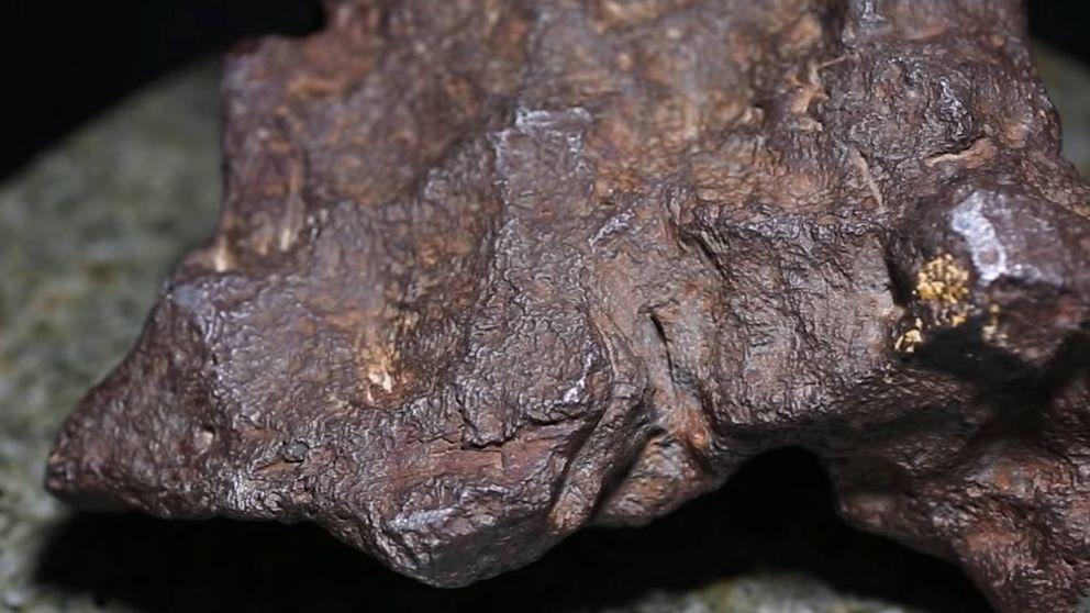 Una roca usada como tope de una puerta resulta ser un meteorito con un valor de 100.000 $