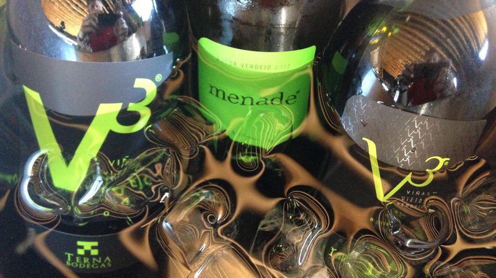 Foto: V3 de Menade, verdejo de Rueda criado en madera