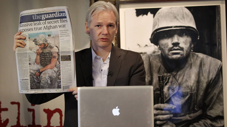 Assange en una imagen de 2010. (Getty)