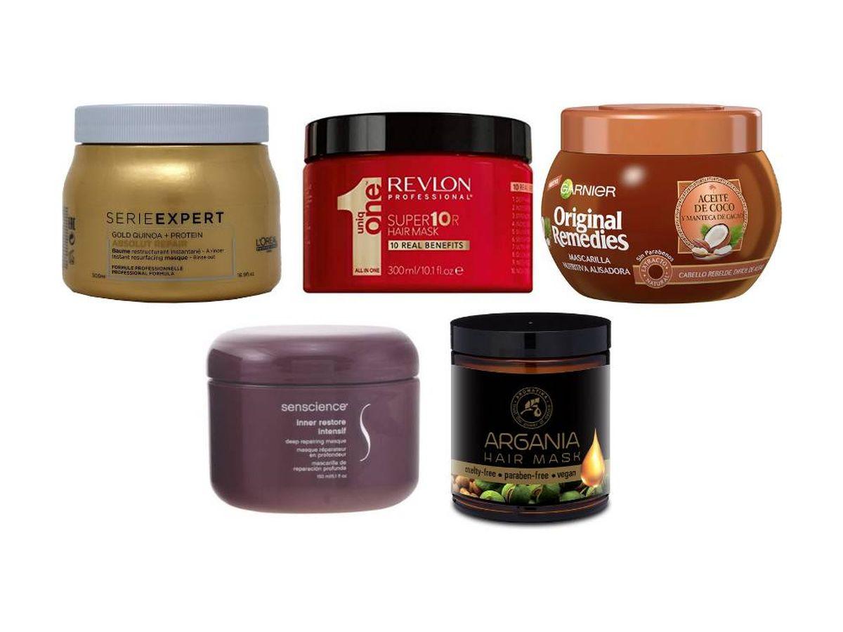 Departamento Ahorro Leyes y regulaciones  Las mascarillas para el pelo dañado que cuidan de pelos grasos, secos o  encrespados
