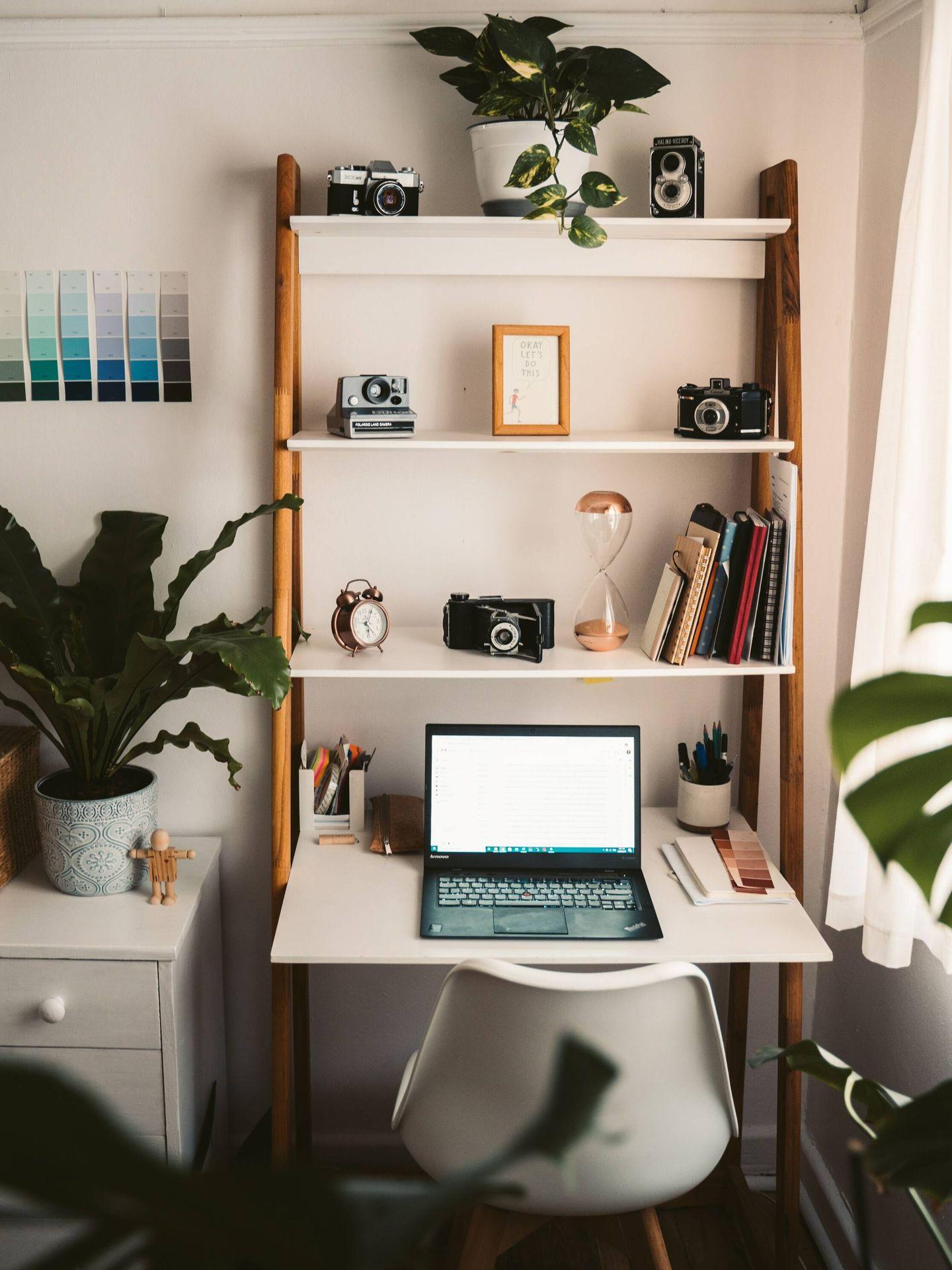 Ubica tu despacho en un lugar bien ventilado y con luz