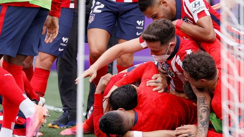 El Atlético de Madrid remonta en Valladolid y se proclama campeón de Liga (1-2)