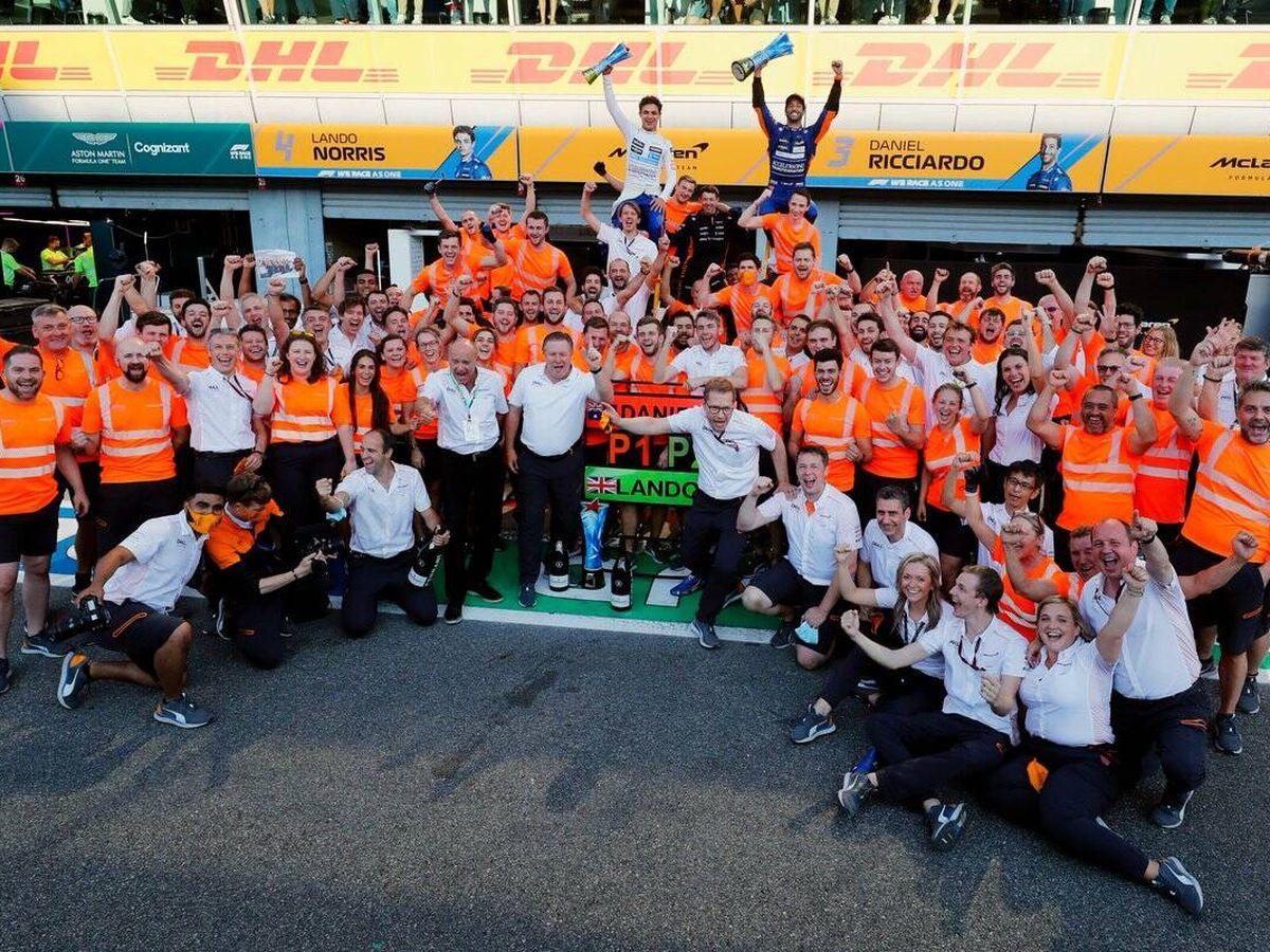 Foto: El éxito de McLaren en Monza culmina la primera fase de su exitoso proceso de reestructuración