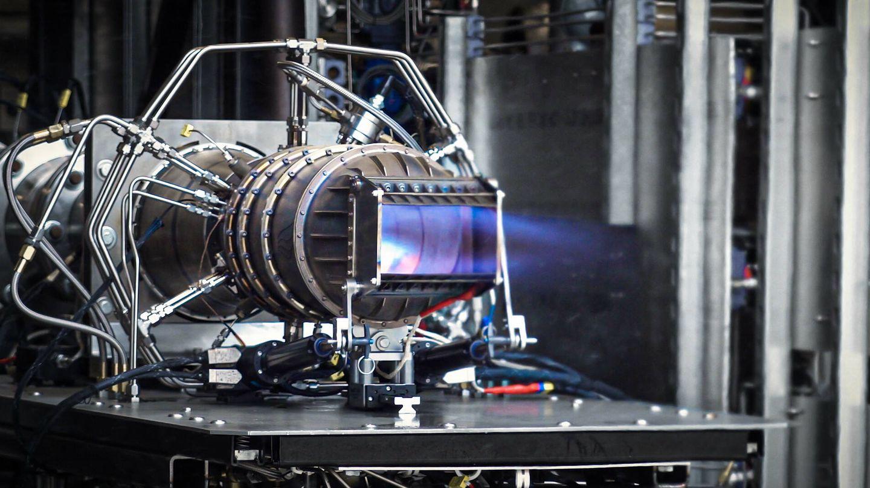 Este motor puede hacer que el avión alcance velocidades de Mach 5. (Hermeus)