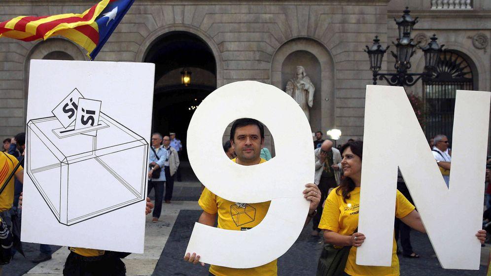 Foto: Concentración independentista. (Efe)