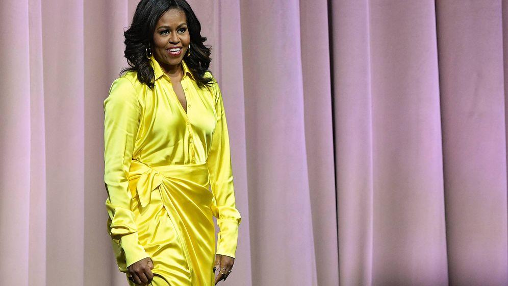 Foto: Michelle Obama, en el último show de su gira. (Getty)